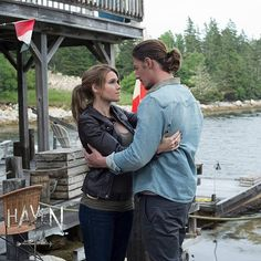Haven Syfy - Audrey and Duke