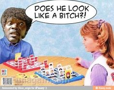Samuel L. Jackson plays Guess Who?