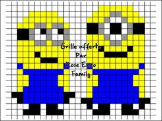 Despicable me Minions hama perler - RoseEnzoFamily   ...........click here to find out more     http://googydog.com