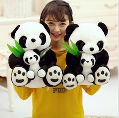 NEW 30cm Lovely stuffed Panda Bear Baby Doll Child Plush Toy Gifts Kids HOT 2018 #Doesnotapply