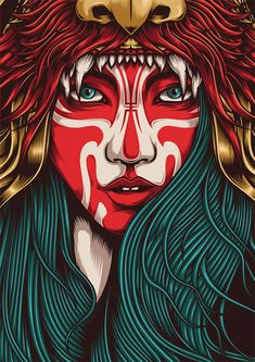 I just love this set of Native American Indian illustrations. Winter Wonderland by One Horse Town Illustration Studio, via Behance Pop Art, Drawn Art, Art Et Illustration, Arte Pop, Art Graphique, Grafik Design, Illustrations Posters, Amazing Art, Awesome