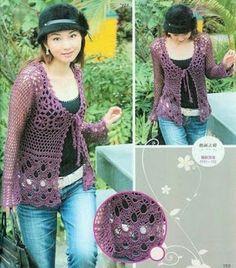 lace blouse - jacket- free pattern