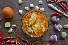 Indonesian Medan Food: Chicken Gule ( Gule Ayam )