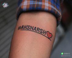Small and Creative Tattoos. #scriptattoo #nametattoo #scripttattoo #heart #inklover #creativetattoo #safe #teamaaryans #aaryan #ahmedabad #gujarat #india Call/Whatsapp: Bodakdev: 9099801171 Chandkheda: 7878601172 Tattoo Script, Tattoo Quotes, Creative Tattoos, Ahmedabad, Fish Tattoos, India, Heart, Tatoo, Rajasthan India