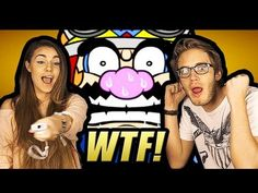 Pewdiepie & CutiePie plays Wario Ware Smooth Moves Part.1