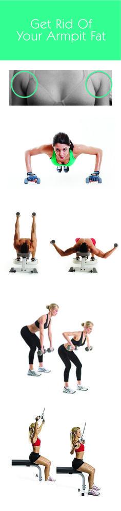 armpit fat #exercises tank top exercises                                                                                                                                                                                 More