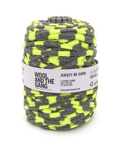 Jersey be Good #woolandthegang funhouse yellow