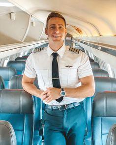 Likes, 638 Comments - Garrett Pilot Uniform, Men In Uniform, Stylish Men, Men Casual, Men In Tight Pants, Beard Boy, Military Men, Well Dressed Men, Good Looking Men