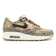 Nike Air Max 1 Premium Desert Camo Leopard Femme Chaussures