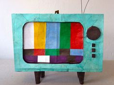 Vintage TV Piñata from The Piñata Maker — Faith's Daily Find 08.29.12