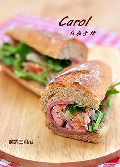 Carol 自在生活  : 越式三明治