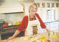 Barbara Thomas, who came up with the idea for the 'Kitchens of New Bern Tour' to benefit the Food Bank of Central & Eastern North Carolina, poses in her Change Street kitchen.