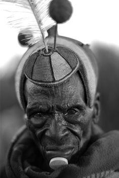 Africa | Look Lokwateban, Jie Clan Elder, Nakapelimuru Watakau, Kotido District, Karamoja, Uganda | ©Alfred Weidinger