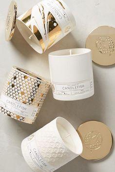 Candlefish Ceramic Candle | Anthropologie