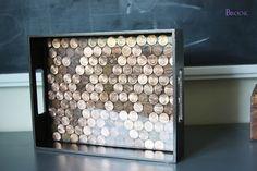 15 Decorative DIY trays for home (tutorials) - Craftionary