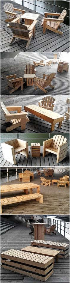 Creative Use of Used, Recycled Wood Pallets Diy Pallet Wall, Wooden Pallet Projects, Wooden Pallet Furniture, Pallet Crafts, Woodworking Projects Diy, Wooden Pallets, Outdoor Furniture, Pallet Ideas, Rustic Cupcake Stands