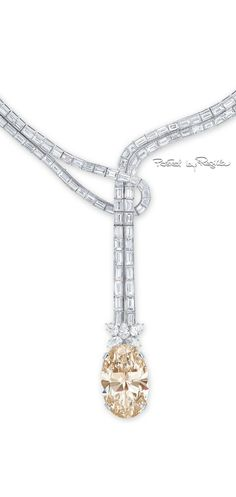 Rosamaria G Frangini | Diamond necklace via Regilla