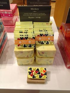 My Disney Life: KeyCon 2014 Trip: Day #2- Mickey soaps from Basin in Downtown Disney