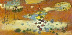 "Rick Stevens Art : Sky of Mind | oil on canvas | 36 x 72"""