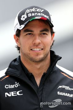 Sergio Perez, Sahara Force India Photo by XPB Images on April 2016 at Russian GP. Browse through our high-res professional motorsports photography Sergio Perez, Force India, F1 Drivers, F 1, Formula One, Race Cars, Racing, Baseball Cards, Sports