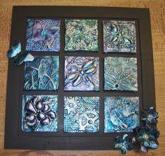 My Take on Craft: Metal Embossed Tiles