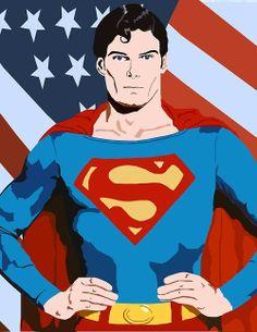 Christopher reeve superman wallpaper superman04 non stabilized fuckyeahsuperman superman by glenn voltagebd Gallery
