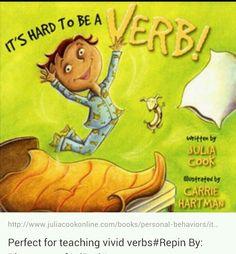 Perfect picture book for teaching vivid verbs Teaching Grammar, Teaching Language Arts, Classroom Language, Teaching Writing, Speech And Language, Teaching Ideas, Grammar Rules, Teaching English, Procedural Writing