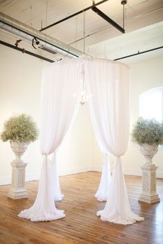 Lovely ceremony setup! // photo by Courtney Dox Photography