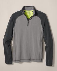 Lookout 1/4-zip Long Sleeve Pullover | Eddie Bauer