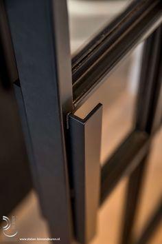 Eaglemont House by Kennedy Nolan Steel Frame Doors, Steel Doors And Windows, Metal Windows, Crittal Doors, Loft Door, Walk In Closet Design, Joinery Details, Small Space Interior Design, Steel Gate