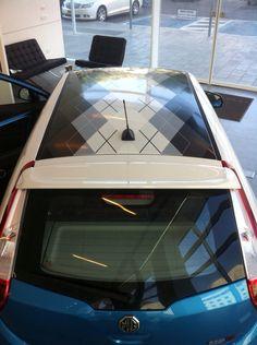 Car roof design 1700-70-33-70