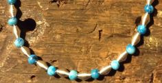 Blue+Jasper+Necklace++by+TarasExpressions+on+Etsy,+$26.00