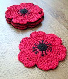 Crochet Home, Knit Or Crochet, Crotchet, Kitchen Things, Cozies, Marmalade, Crochet Flowers, Creative Ideas, Poppy
