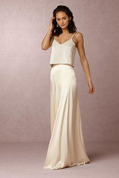 6 Alternative Yet Understated Wedding Dress Styles