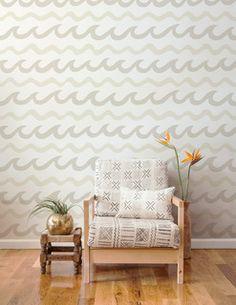 Aimee Wilder Swell Wallpaper   2Modern Furniture & Lighting