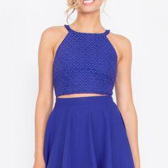 Miss Violet Dress ($60) ❤ liked on Polyvore