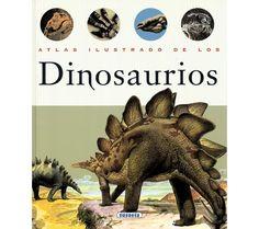 Atlas Ilustrado de los dinosaurios - Todo Dinosaurios - La tienda del dinosaurio