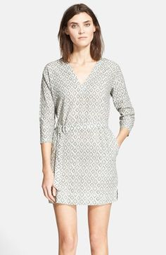 Piece & Co. and Theory 'Tianhe' Print Cotton Dress (Nordstrom Exclusive) available at #Nordstrom