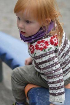 Ravelry: Barnejakka Bergen, baby! pattern by Pinneguri