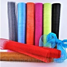 """Quinceanera Mall - 21"""" Mesh Roll - 10 Yards #MESH1"""