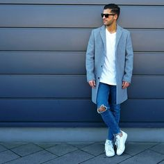 How to wear ripped jeans for men #mens #fashion #style