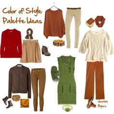 "My ""Color of Style"" Palette Outfit Ideas"