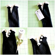Lace boot sock tutorial