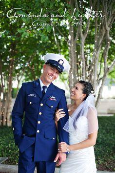 Amanda & Luther, Mahaffey Theater, St. Petersburg Wedding Photographer, Coast Guard Wedding