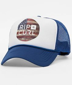 Rip Curl Flag Trucker Hat at Buckle.com