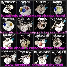 Custom sports necklace, mom, wrestling, baseball softball tennis band soccer lacrosse hockey rugby basketball cheerleading volleyball track