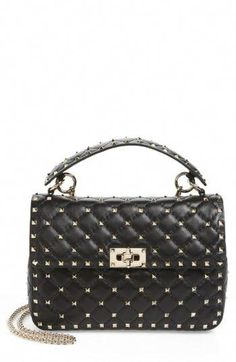 cca3396eba8a Chic VALENTINO GARAVANI Medium Rockstud Spike Crossbody Bag Women s Fashion  Handbags.   2895  nanaclothing from top store  Valentino