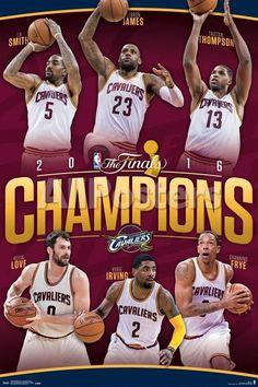 33b62e6fc 2016 NBA Finals- Champions Rollcall People Poster - 61 x 91 cm Sports Wall