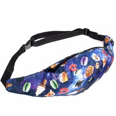These Are A Few Of My Favorite Things Fanny Pack and more Incredible Gifts at Perpetual Kid. A free floating galactic scene of sugary sweets and cat