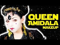 Queen Amidala Makeup by my fave Makeup Guru Charis (A Charisma Star TV CLASSIC!)